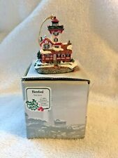 Signed Harbour Lights Ornament Hereford, New Jersey 2001