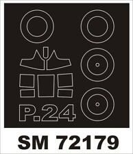Montex Mini Mask 1:72 PZL P-24 for Azur Kit Spraying Stencil #SM72179