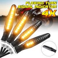 4x 24 LED Universel Clignotant Turn Signal Indicateur Feux Diurne Freinage Moto
