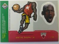 1998-99 Upper Deck UD Choice Mini Bobbing Heads Michael Jordan #30 Chicago Bulls