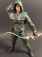 "2014 DC COLLECTIBLES CW TV SHOW ARROW 7"" FIGURE OLIVER QUEEN RARE NICE"