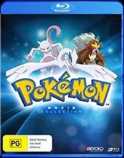 POKEMON : THE MOVIE COLLECTION 1 2 & 3 Set  with poster - Sealed Region B