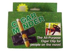 Cigar Minder Cigar Clip (Black) All-Purpose Cigar Holder New