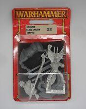 WARHAMMER Fantasy Vampiro CONTA montato Sangue Drago Vampiro 2 IN BLISTER 2000