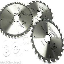 3pc 190mm TCT Circular Saw Blades 20/24/40Teeth 25 18 16mm Reduce ring 30 Centre