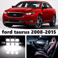 12pcs LED Xenon White Light Interior Package Kit for Ford Taurus 2008-2015