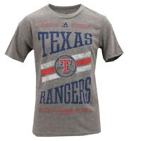 Texas Rangers Official MLB Majestic Genuine Kids Youth Size T-Shirt New Tags