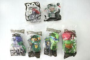 TMNT Sonic Rise Of The Teenage Mutant Ninja Turtles Lot of 4 Wacky Pack Sealed