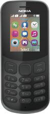 "Nokia 130 (2017) Unlocked SIM-Free Mobile Phone 1.8"" Display, 4MB RAM, 8MB ROM"
