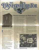 Vintage (1982 Fall) Newsletter: DISNEYANA COLLECTOR (Grolier) MG