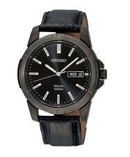 Elegante runde Seiko Armbanduhren