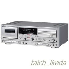 TEAC CD recorder / cassette deck Silver AD-RW950-S from Japan EMS