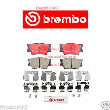 brembo Rear Disc Brake Pad Set for Lexus ES300h ES350 HS250h Toyota Avalon RAV4