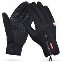Thermal Windproof Fleece Lined Winter Gloves Touch Screen Mittens Men Women Gift