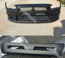 Mitsubishi Lancer & Sportback Black Carbon Plate Cover for Front Bumper Grille