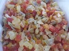 MIX FRUTTA secca DISIDRATA essiccata naturale 4. colazione snack 1 qualita'