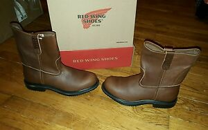Red Wing steel toe boots size 5 EE