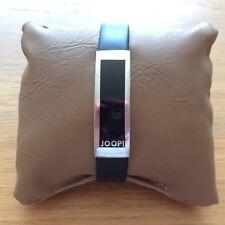 JOOP-Armband mit Epoxy, 925er-Silber / Leder