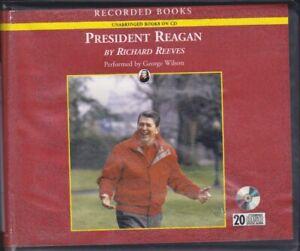 PRESIDENT REAGAN by RICHARD REEVES ~ UNABRIDGED CD AUDIOBOOK
