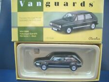 + Volkswagen VW Golf 1 GTI von  Vanguards in 1:43 ++ schwarz +++    VA12000