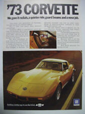 Corvette Car and Truck Advertising Collectables