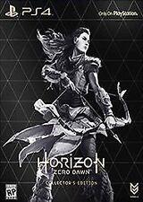 Horizon: Zero Dawn - Collector's Edition (PlayStation 4, 2017)