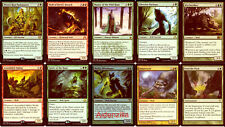 MTG Wolf Deck - Master of the Wild Hunt Wolves - Magic the Gathering