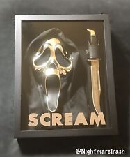 Scream Movie Ghost Face 25th Anniversary Mask Knife Halloween Collectors Horror