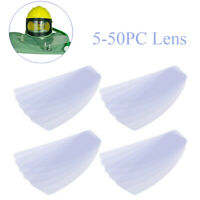 5/10/20/50PC Lens for Sandblast Helmet Safety Shield for Sandblaster Helmet Lens