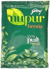 Godrej Nupur Herbal Mehandi Henna Powder Natural Hair Color 120gm