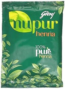Godrej Nupur Herbal Mehandi Henna Powder Natural Hair Color 400gm