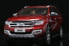 Diecast Car Model Ford Everest Titanium SUV U375 1:18 (Red) + GIFT!!