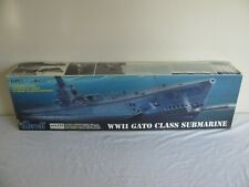 Vintage Revell 1/72 Scale WWII Gato Class Submarine #85-0384 NOS