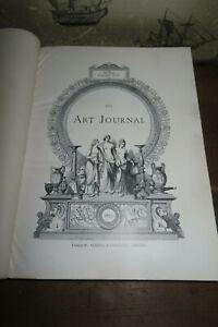 1879 THE ART JOURNAL VOL XVIII 36 STEEL ENGRAVED PLTS ARTIST MANN MILLAIS @