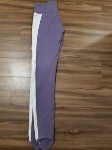 Fabletics Leggings Purple/White Size Medium