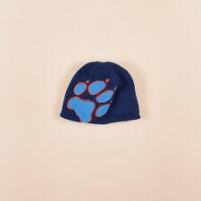 Jack Wolfskin Junge Kinder Mütze Kappe Gr.One Size Fleece Blau, 72359