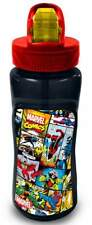 Marvel Avengers Comics Flip 'n' Flow Bottle (590ml) | Spider-Man, Falcon, Venom