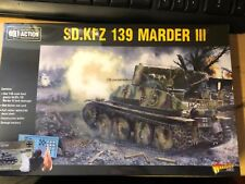 SD. KFZ 139 Marder III-Bolt Action-Warlord Games Segunda Guerra Mundial
