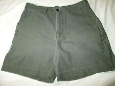 Mens Patagonia Shorts - Olive Green Denim 5 Pockets - Size 32 VGC
