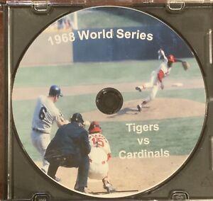 1968 World Series Detroit Tigers Vs St Louis Cardinals