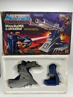 MOTU Beam-Blaster & Artillery Masters of the Universe with  Box