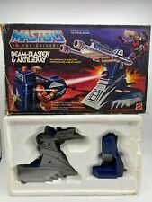 MOTU Beam-Blaster & Artilleray Masters of the Universe with  Box