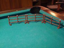 plastic toy farm fencing