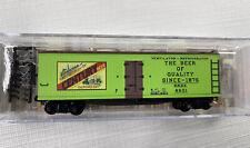 MICRO TRAINS 04900680 049 00 680 CENTURY BEER SCHNEIDER CAR #7-40' WOOD REEFER N