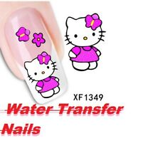 Sheet Optional Flower Bows Cat Etc Water Transfer Sticker Nail Art Decals Nails