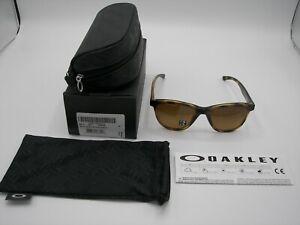 NIB Authentic Oakley Moonlighter Tortoise/Brown Gradient Polarized
