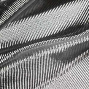 TISSU DE VERRE ALUMINISE TEXALIUM sergé 162g. Pour résines polyester ou époxy.