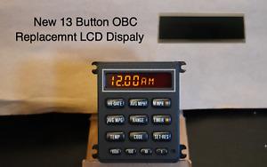 NEW LCD Screen Replacement for BMW E30 / E28 / E24 13 Button OBC Clock BC2