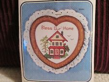 """The New Berlin Co. """"BLESS OUR HOME"""" Counted Cross Stitch Kit"""