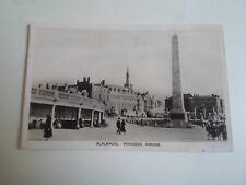 Vintage Real Photo Postcard BLACKPOOL PRINCESS PARADE Franked+Stamped 1945 §A886